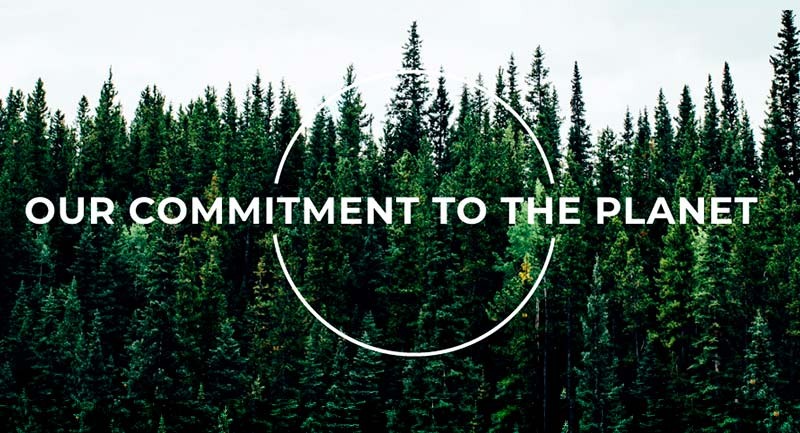Our commitment to the planet